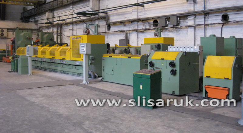 Straight Line Continuous Wire Drawing Machine SCWD-600 (7-Block)